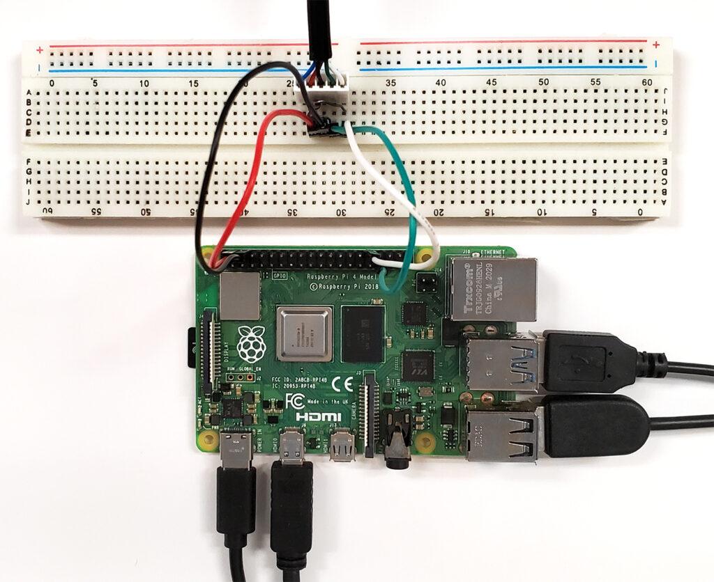 Connecting an Atlas Scientific CO2 Sensor to a Raspberry Pi 4.0