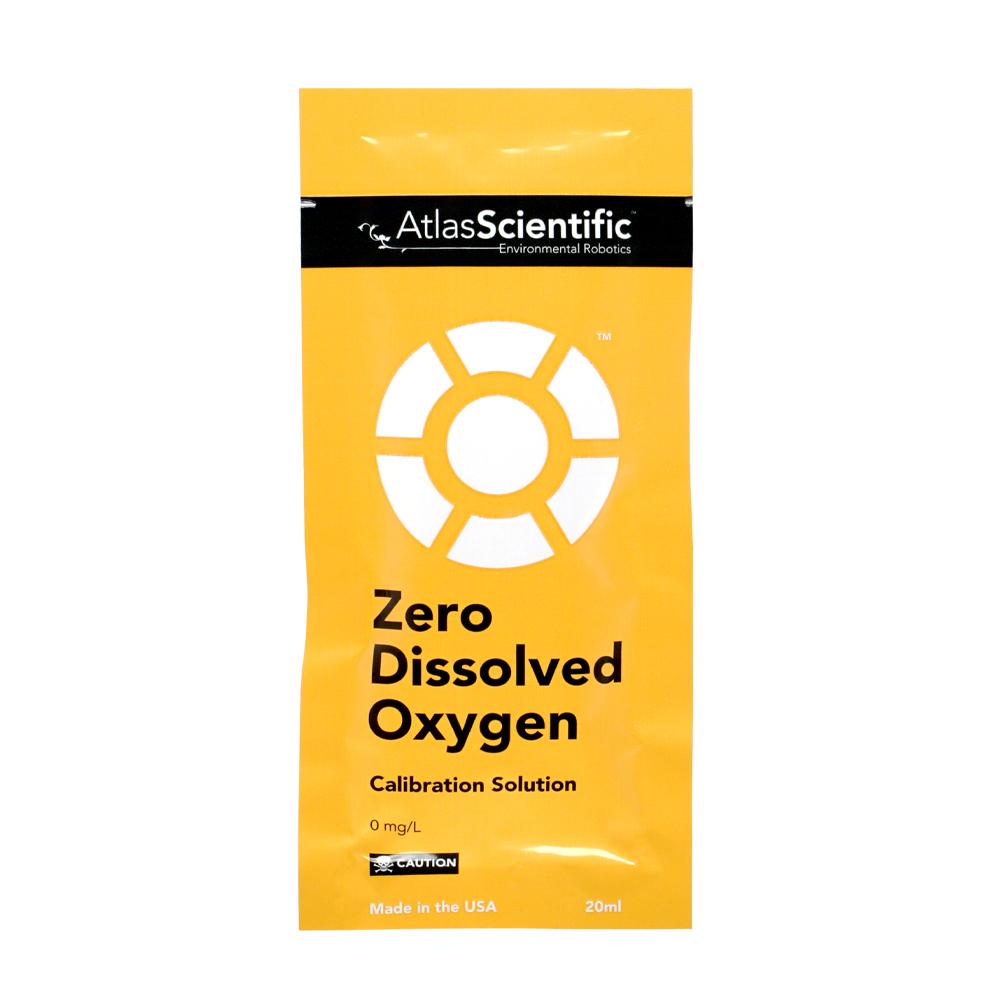 Zero Dissolved Oxygen Calibration Solution Pouch