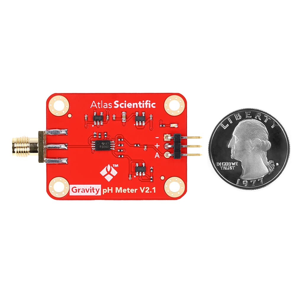 Gravity™ Analog pH Sensor / Meter