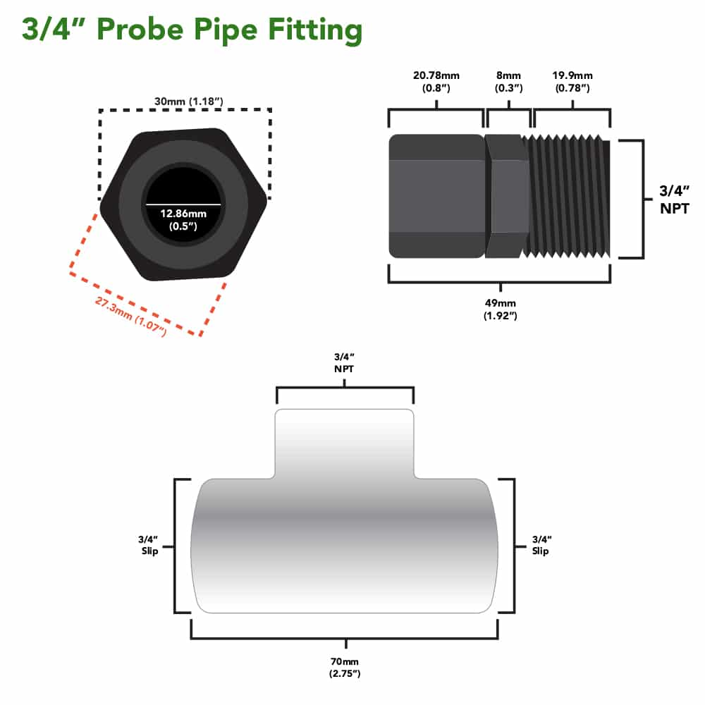 Probe Pipe Fitting