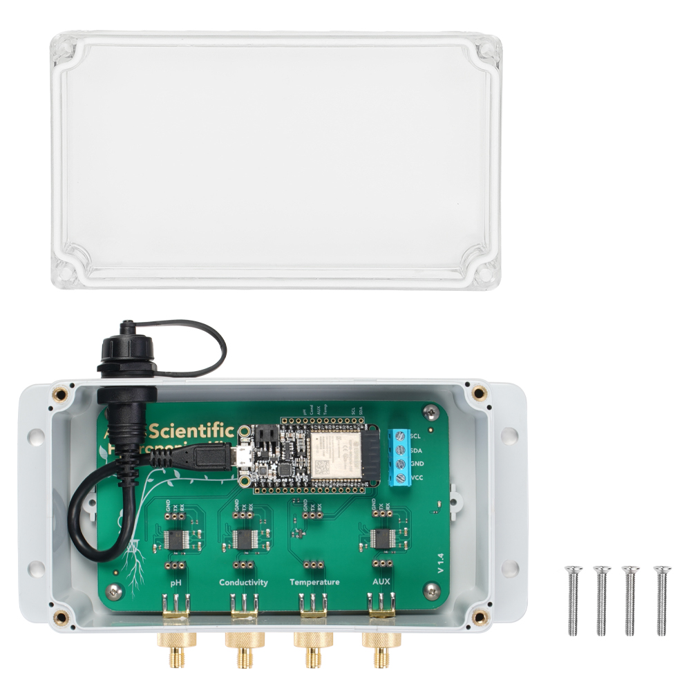 Bare-Bones Wi-Fi Hydroponics Kit
