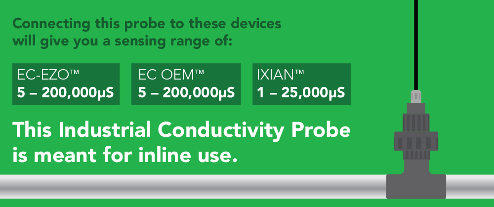 Industrial Conductivity Probe K 1.0