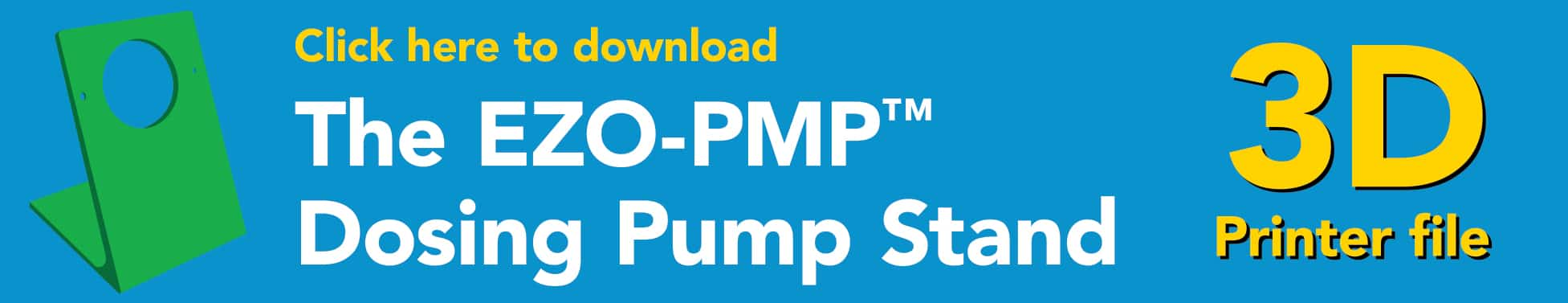 EZO-PMP™ Dosing Pump Stand