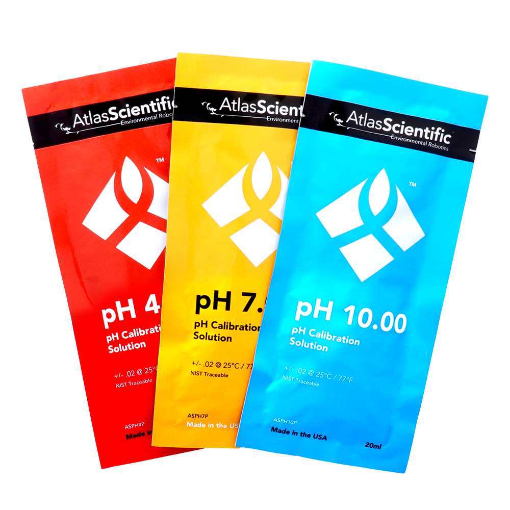 pH Calibration Set (3 pouches)