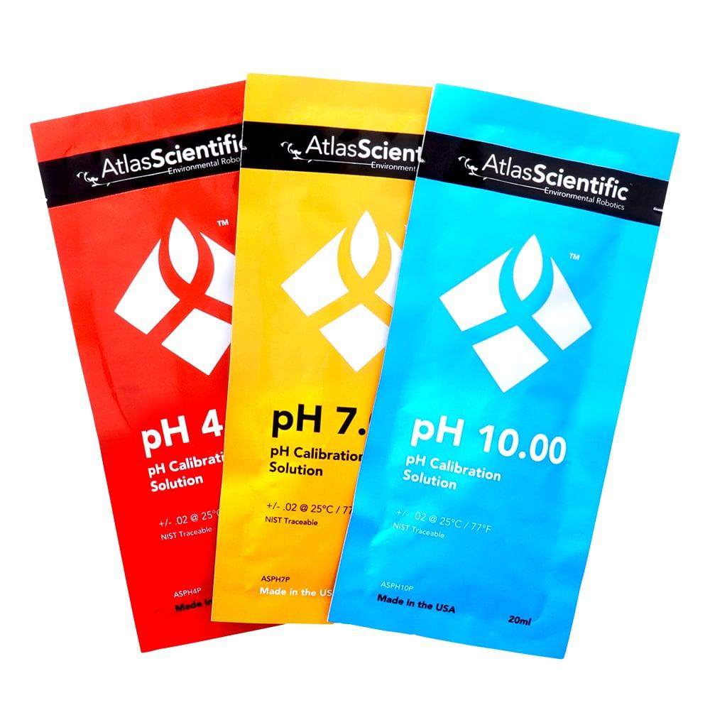 pH Calibration Set (6 pouches)